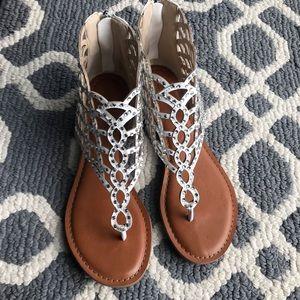 ZiGi Soho Melaa Caged Flat Thong Sandals.